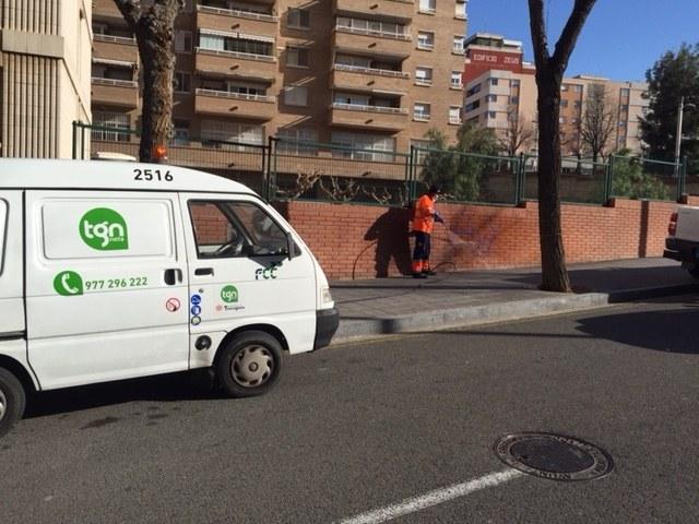 """La campanya """"Posem a punt el teu barri"""" continua dignificant els carrers de la ciutat"""