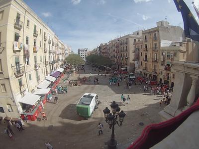 Per Santa Tecla, més de 120 persones s'han encarregat de mantenir nets els carrers de Tarragona
