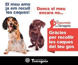 """La campanya """"Em comprometo amb Tarragona"""" inicia una segona fase pel civisme dels propietaris d'animals"""