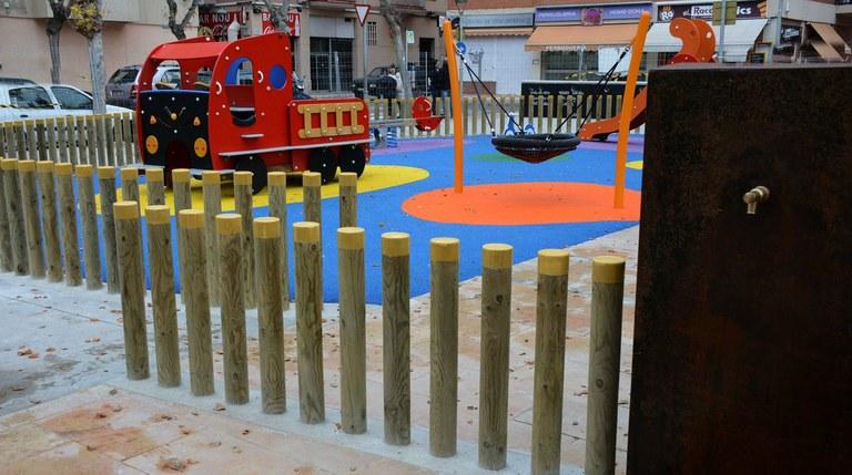 La remodelació de la plaça dels Infants ja està enllestida