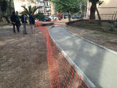 Les obres de millora dels vials principals i la mobilitat d'interblocs de Sant Salvador ja estan en marxa