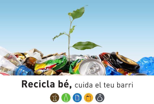 Nova campanya pel foment de la recollida selectiva a Torreforta, La Granja, Riu Clar i Icomar