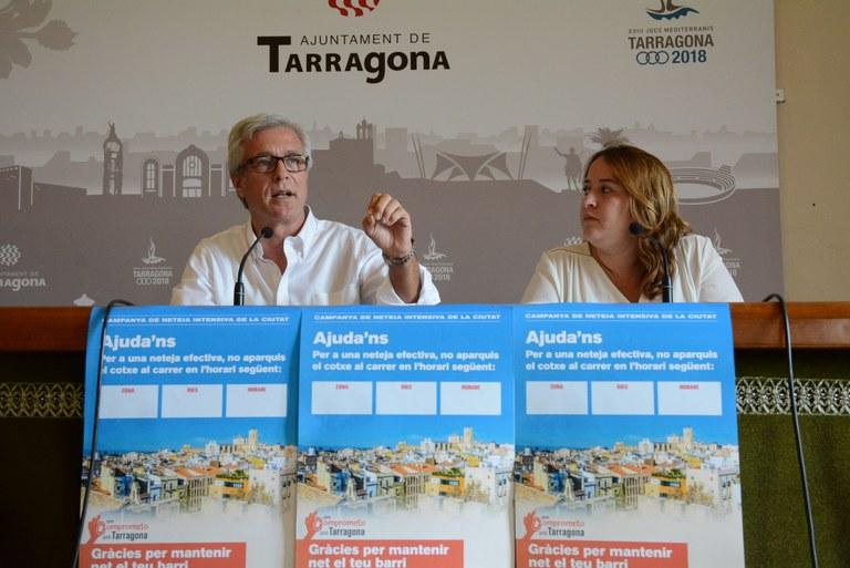 Tarragona llança una campanya intensiva de neteja a tota la ciutat