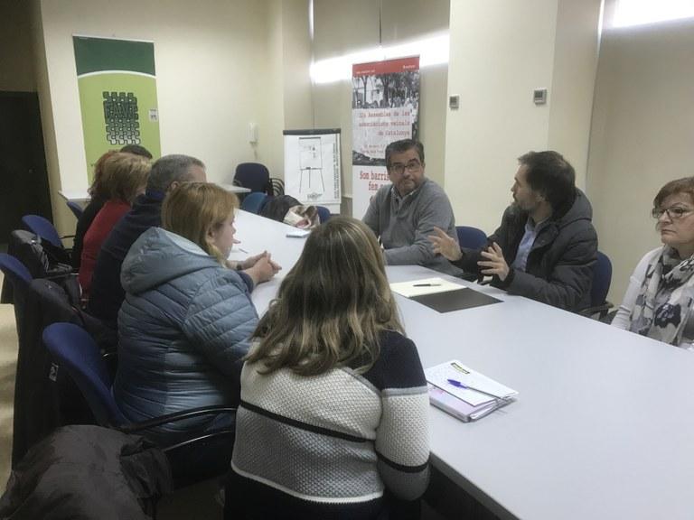El conseller d'Espais Públics es reuneix amb la Federació d'Associacions de Veïns de Tarragona per parlar de la poda
