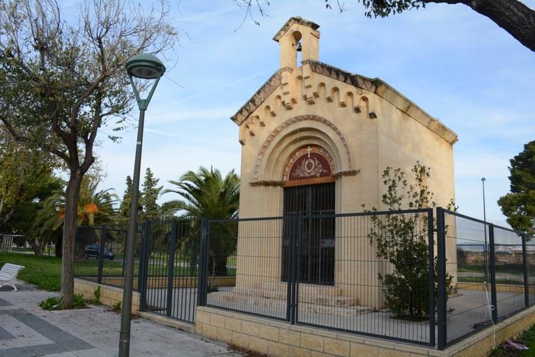 Espais públics adjudica les obres de reparació de l'ermita de La Dolorosa del Parc Riu Clar