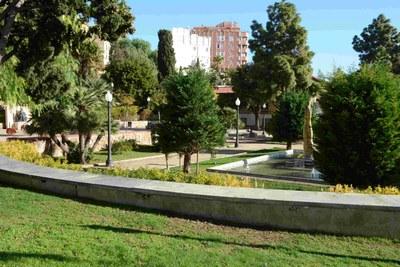Espais Públics tancarà els parcs de la Reconciliació i de la plaça de Pompeu Fabra
