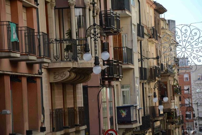 L'Ajuntament renova l'enllumenat del carrer de la Unió