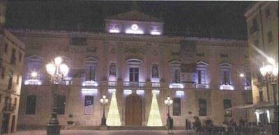 Tarragona renova la il·luminació nadalenca de la plaça de la Font i de la Imperial Tàrraco