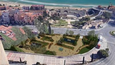 El parc de la Reconciliació es transformarà en uns jardins que potenciaran el seu valor paisatgístic i lúdic