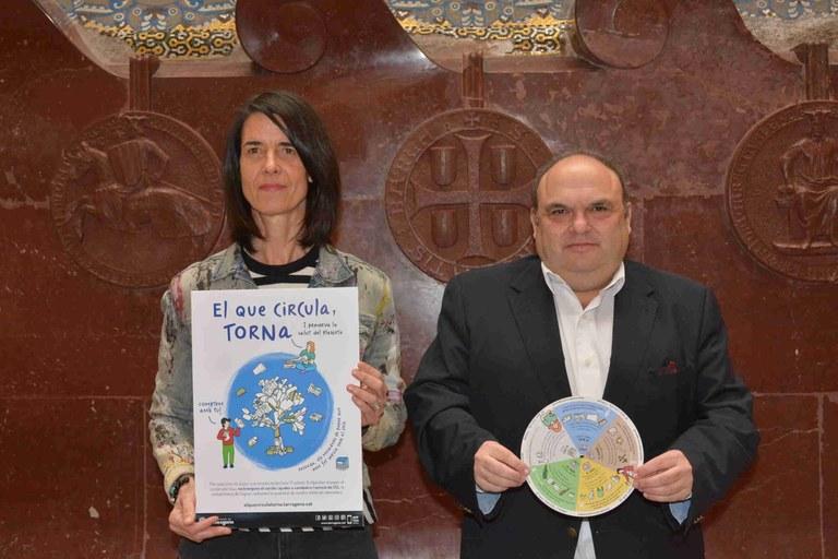 L'Ajuntament de Tarragona enceta una campanya per reduir el percentatge d'impropis de les diferents fraccions de brossa