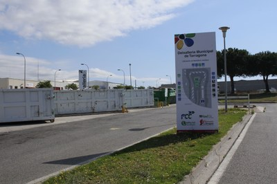 L'Ajuntament informatitza la gestió de residus de la deixalleria municipal