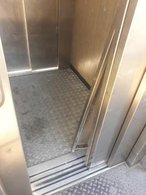 Un nou acte vandàlic deixa el Parc de l'Amfiteatre sense ascensor