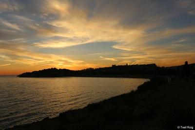 La ciutat de Tarragona manté les quatre banderes blaves a les seves platges