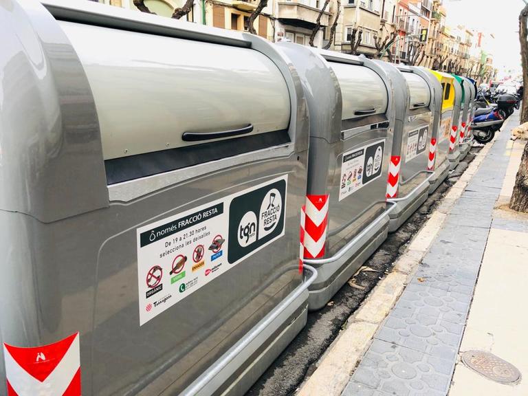 L'Ajuntament de Tarragona restableix tots els serveis de neteja i recupera el de recollida de mobles