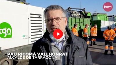 L'alcalde de Tarragona fa una crida a la ciutadania perquè respecti els serveis mínims essencials en l'àmbit de la neteja
