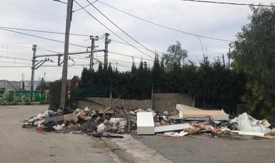 Obren 152 expedients sancionadors per abandonar residus a la via pública