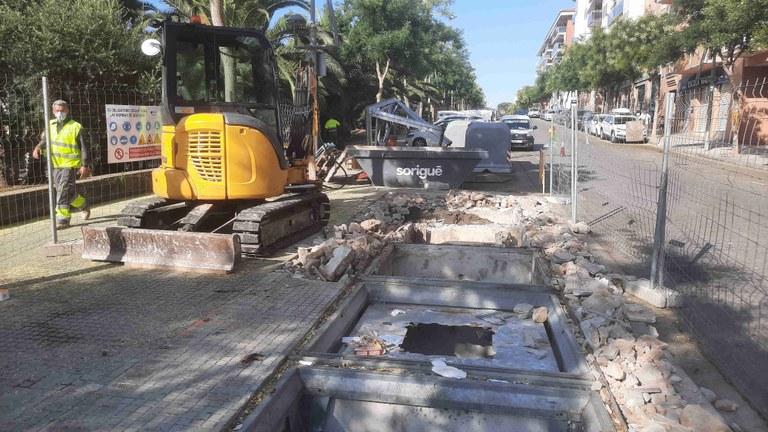 S'inicia el projecte d'eliminació de 119 illes de contenidors soterrats de la ciutat