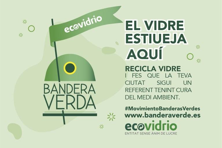 Tarragona competirà aquest estiu per aconseguir la Bandera Verda d'Ecovidrio