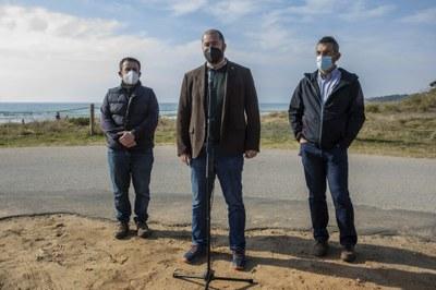 L'Ajuntament de Tarragona presenta un estudi de diagnosi i pla de gestió i recuperació de la platja Llarga