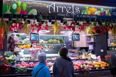Mercats florals: els Mercats s'adhereixen a la iniciativa Tarragona Vila Florida