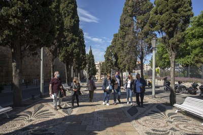 Tarragona rep la visita del jurat de Viles Florides