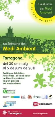 Del 30 de maig al 6 de juny Tarragona celebrarà la Setmana del Medi Ambient
