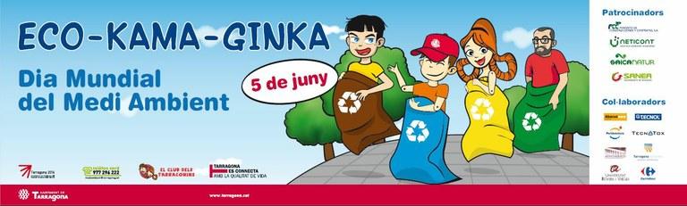 Dissabte 5 de juny, gimcana amb motiu del Dia Mundial del Medi Ambient a la Rambla Nova