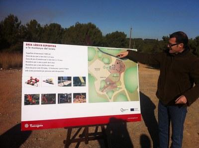 Es presenta el projecte d'una àrea lúdico-esportiva a la muntanya del Llorito de l'Anella Verda
