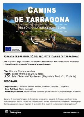Jornada de Presentació del projecte Camins de Tarragona