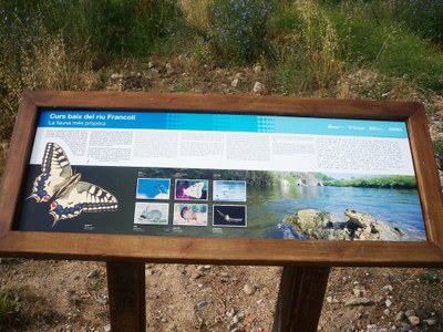 L'Associació Aurora i l'Ajuntament de Tarragona promocionen els valors naturals del curs baix del riu Francolí