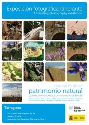 """L'exposició fotogràfica """"Patrimonio natural"""" porta a Tarragona els tresors naturals de les trezte ciutats espanyoles patrimoni de la humanitat"""