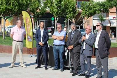 Ahir es va inaugurar el Parc de les Lletres Catalanes