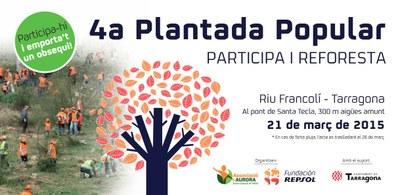 Nova data per a la plantada popular al riu Francolí
