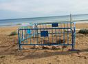 Arranjament d'un col·lector a la platja Llarga