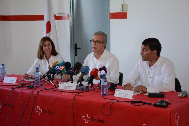 Tarragona renova el contracte amb la Creu Roja