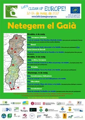 """Tarragona se suma al Let's Clean Up Europe! amb la campanya """"Netegem el Gaià"""""""