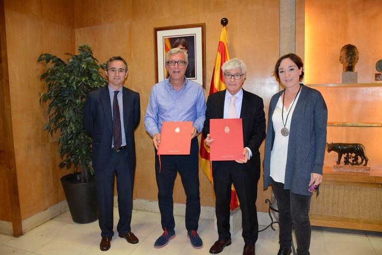 Tarragona Smart Mediterranean City i l'empresa SECE signen un conveni de col·laboració