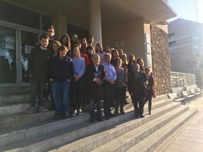 Acord de col·laboració per desenvolupar projectes de l'Anella Verda