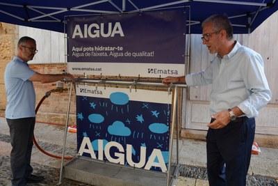 Sant Magí, Santa Tecla, la Diada Castellera del primer diumenge de festes i el Concurs de Castells comptaran amb un punt d'hidratació per abastir d'aigua