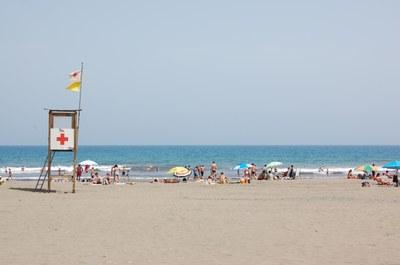 Aquest cap de setmana comença la temporada de platges a la ciutat