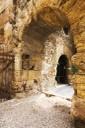 1. Accés monumental del recinte del fòrum provincial del segle I dC (plaça del Pallol)