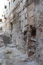 2. Mur de pilastres del recinte del fòrum provincial