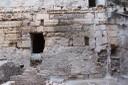 3. Detall del mur de pilastres del recinte del fòrum provincial