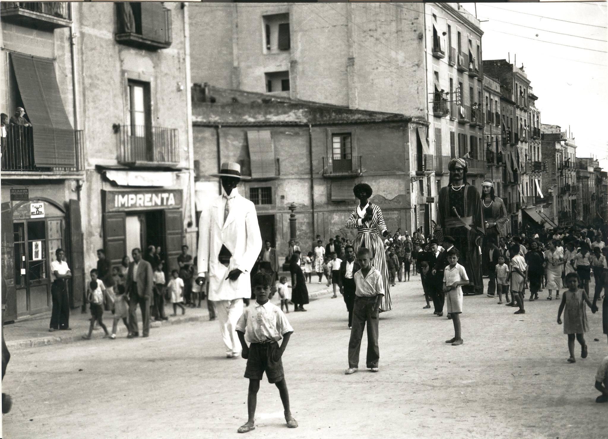 Santa Tecla de 1935. Foto: Vallvé
