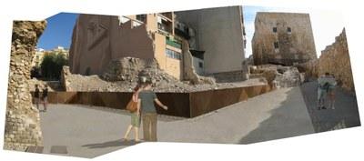 L'Ajuntament presenta el projecte de millora de la Porta Triumphalis del Circ