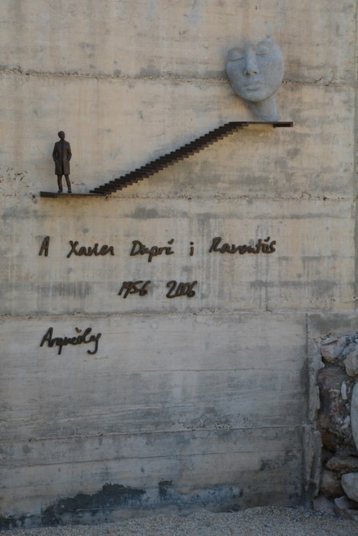 La capçalera del Circ lluirà una escultura en homenatge a l'arqueòleg de Tàrraco Xavier Dupré