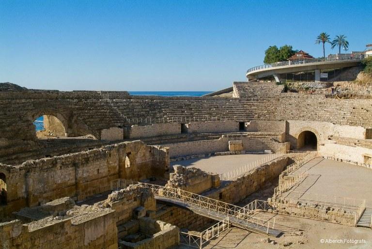 Tancat provisionalment l'accés a l'arena de l'Amfiteatre