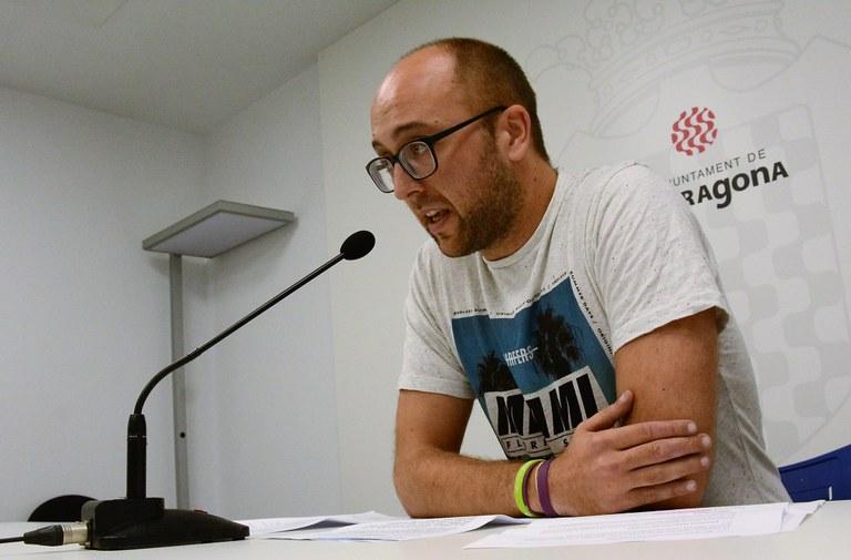 """Hermán Pinedo: """"Tanquem provisionalment l'amfiteatre per prudència"""""""