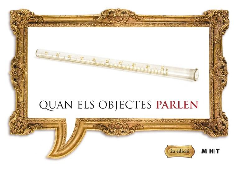 """Un tub eudiomètric de vidre bufat, peça del mes de novembre de """"Quan els objectes parlen"""""""