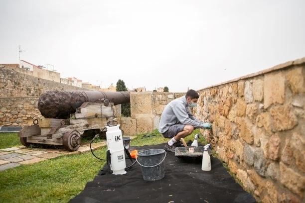 Arranjament del Passeig Arqueològic amb la participació dels alumnes de la Casa d'Oficis